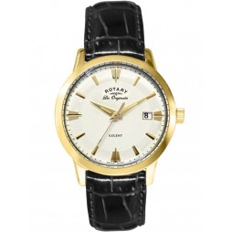 Rotary Mens Gold Regent Watch GS90115/01