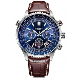 Rotary Mens Aviation Strap Watch GS00699/05