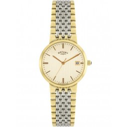 Rotary Mens Two Colour Classic Watch GB00497-03