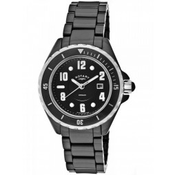 Rotary Mens Ceramique Strap Watch GB00333-19