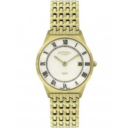 Rotary Mens Ultra-Slim 1895 Bracelet Watch GB08002-01