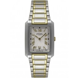 Rotary Mens Two Tone Watch GB02606-21