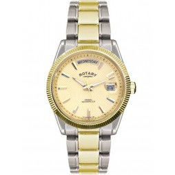Rotary Mens Champagne Dial Watch GB02661-20