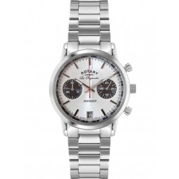 Rotary Mens Steel Chronograph Watch GB90130/06