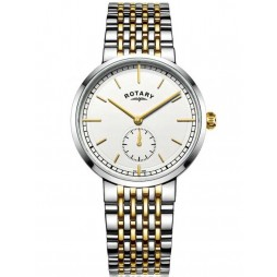 Rotary Mens Canterbury Two Tone Bracelet Watch GB05061/02