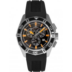 Rotary Mens Rubber Chronograph Watch AGS90088/C/04