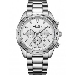 Rotary Mens Henley Chronograph Bracelet Watch GB05115/06