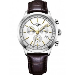 Rotary Mens Cambridge Chronograph Strap Watch GS05253/02