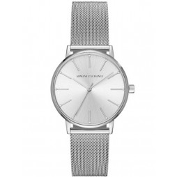 Armani Exchange Ladies Steel Mesh Bracelet Watch AX5535