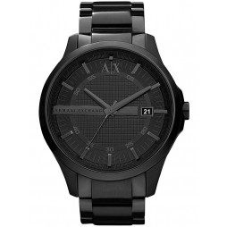 Armani Exchange Mens Black Bracelet Watch AX2104