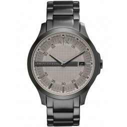 Armani Exchange Mens Grey Check Watch AX2194