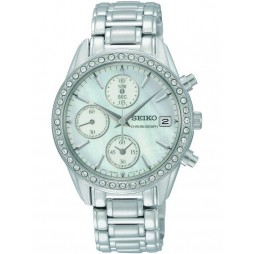 Seiko Ladies Chronograph Watch SNDY21P9