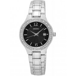 Seiko Ladies Stainless Steel Watch SUR785P1