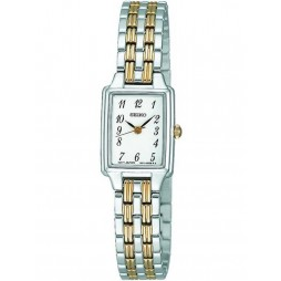 Seiko Ladies Two Tone Stainless Steel Bracelet Watch SXGL61P9