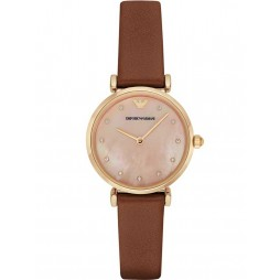 Emporio Armani Ladies T-Bar Strap Watch AR1960