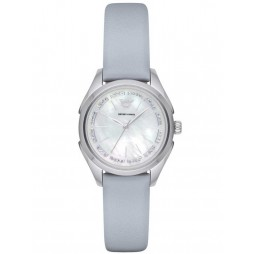 Emporio Armani Ladies Mother of Pearl Watch AR11032