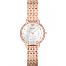 Emporio Armani Ladies Mother of Pearl Watch AR11006