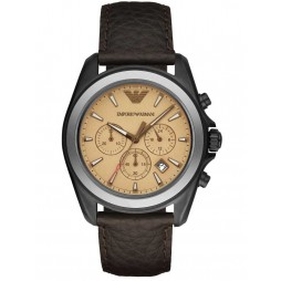 Emporio Armani Mens Chronograph Strap Watch AR6070