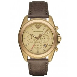 Emporio Armani Mens Chronograph Strap Watch AR6071