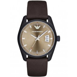 Emporio Armani Mens Strap Watch AR6081