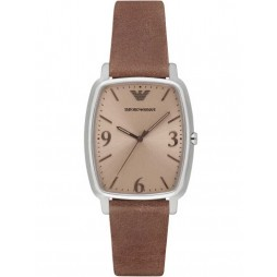 Emporio Armani Mens Oblong Strap Watch AR2489