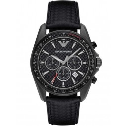Emporio Armani Mens Chronograph Strap Watch AR6122