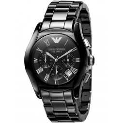Emporio Armani Black Ceramic Watch AR1400