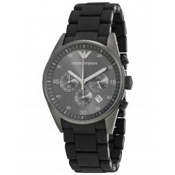 Emporio Armani Mens Black Sports Watch AR5889