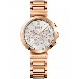 Hugo Boss Ladies Rose Gold Plated Bracelet Watch 1502399