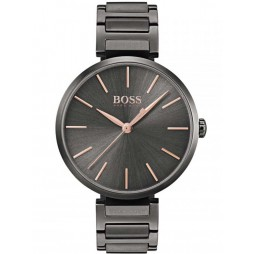 Hugo Boss Ladies Allusion Black Bracelet Watch 1502416