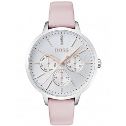 Hugo Boss Ladies Symphony Pink Strap Watch 1502419
