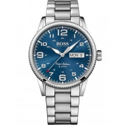 Hugo Boss Mens Pilot Vintage Bracelet Watch 1513329