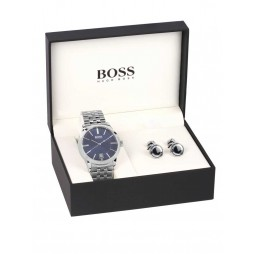 Hugo Boss Mens Watch Cufflink Set 1570045