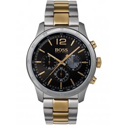 BOSS Mens The Professional Chronograph Two Tone Bracelet Watch 1513529