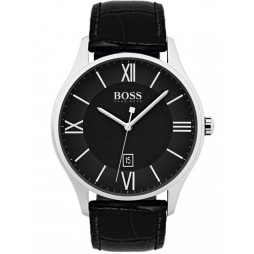 Hugo Boss Mens Governor Strap Watch 1513485