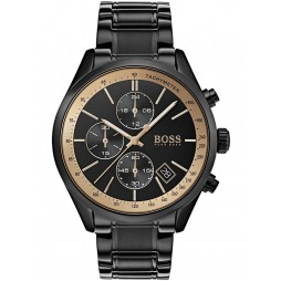 Hugo Boss Mens GQ Grand Prix Black Watch 1513578
