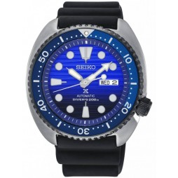 Seiko Prospex Save The Ocean Special Edition Automatic Rubber Strap Watch SRPC91K1
