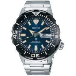Seiko Mens Prospex Automatic Divers Blue Dial Bracelet Watch SRPD25K1