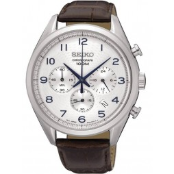 Seiko Mens Chronograph Strap Watch SSB229P1