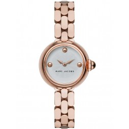 Marc Jacobs Ladies Courtney Rose Gold Plated Bracelet Watch MJ3458