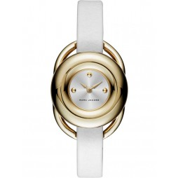 Marc Jacobs Ladies Jerrie Gold Plated Strap Watch MJ1446