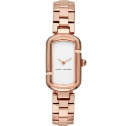 Marc Jacobs Ladies Jacobs Rose Gold Plated Bracelet Watch MJ3505