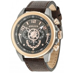 Police Mens Belmont Strap Watch 15036JSUR/61
