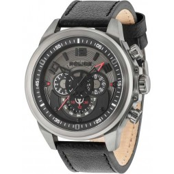 Police Mens Belmont Strap Watch 15036JSU/61