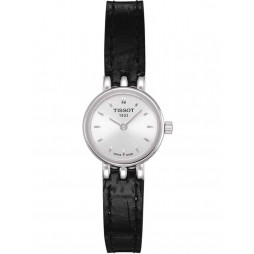 Tissot T-Lady Lovely Black Strap Watch T058.009.16.031.00