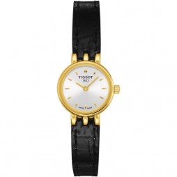 Tissot T-Lady Lovely Gold Tone Strap Watch T058.009.36.031.00