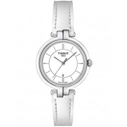 Tissot T-Lady Flamingo White Strap Watch T094.210.16.011.00