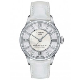 Tissot Ladies Chemin Des Tourelles Automatic Strap Watch T0992071611600