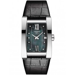 Tissot Ladies Black Generosi-T Watch T105.309.16.126.00