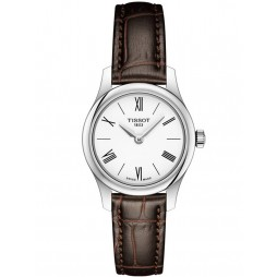 Tissot Ladies T-Classic Tradition Brown Watch T063.009.16.018.00